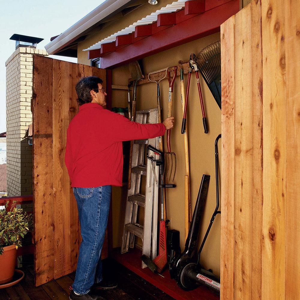14 Creative DIY Garden Tool Storage Ideas - Gardening ...